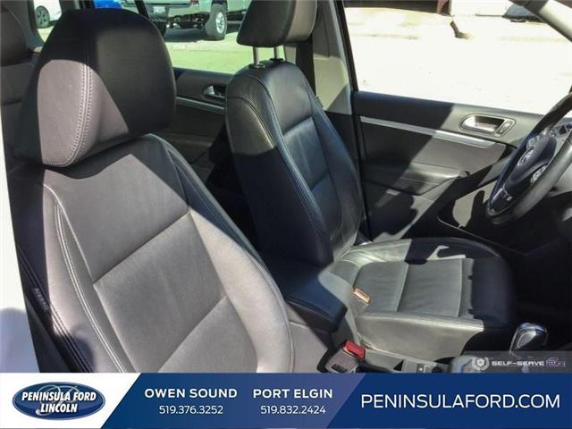 2015 Volkswagen Tiguan Highline (Stk: 19LI31A) in Owen Sound - Image 22 of 25