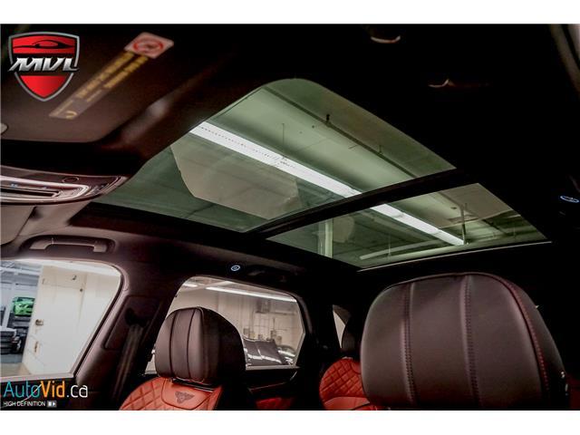2019 Bentley Bentayga  (Stk: ) in Oakville - Image 19 of 37