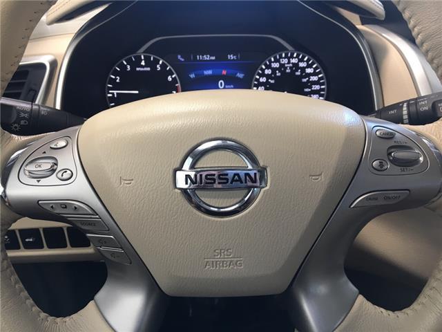 2016 Nissan Murano Platinum (Stk: P0701) in Owen Sound - Image 12 of 13