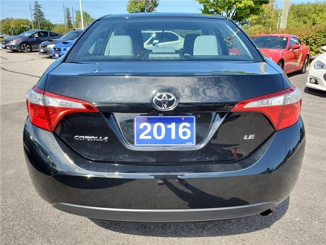2016 Toyota Corolla LE (Stk: 19S1085A) in Whitby - Image 4 of 23