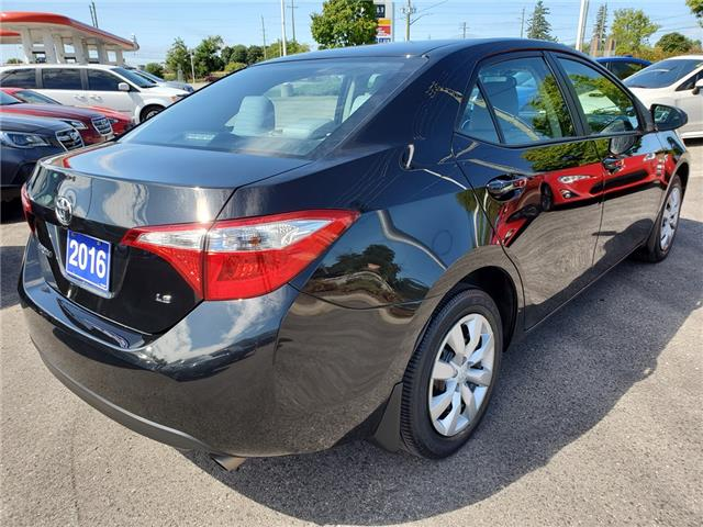 2016 Toyota Corolla LE (Stk: 19S1085A) in Whitby - Image 5 of 23