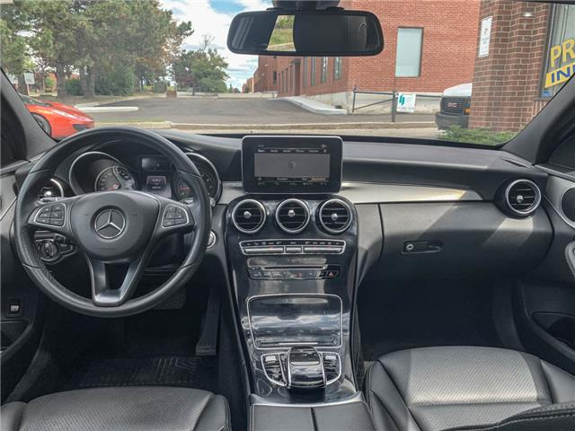 2018 Mercedes-Benz C-Class Base (Stk: ) in Woodbridge - Image 9 of 16
