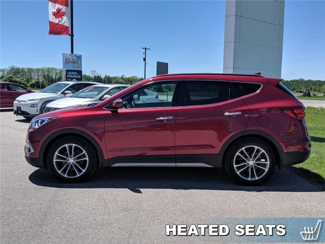 2017 Hyundai Santa Fe Sport 2.0T Ultimate (Stk: 95031A) in Goderich - Image 2 of 16