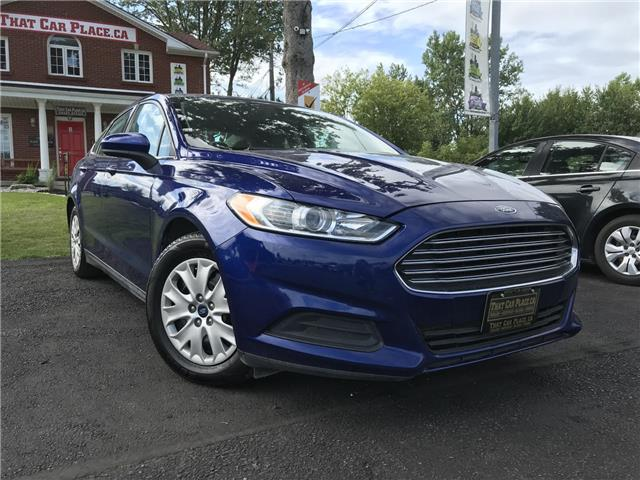 2013 Ford Fusion S (Stk: 5315) in London - Image 1 of 20
