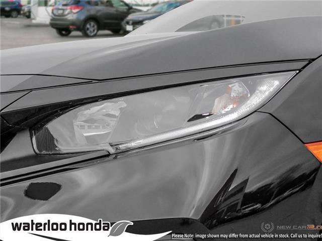 2019 Honda Civic EX (Stk: H6161) in Waterloo - Image 10 of 23
