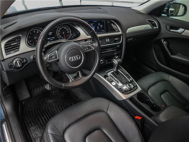 2015 Audi A4 2.0T Progressiv (Stk: 190813A) in Toronto - Image 10 of 30