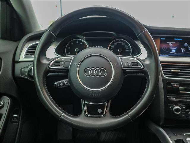 2015 Audi A4 2.0T Progressiv (Stk: 190813A) in Toronto - Image 12 of 30
