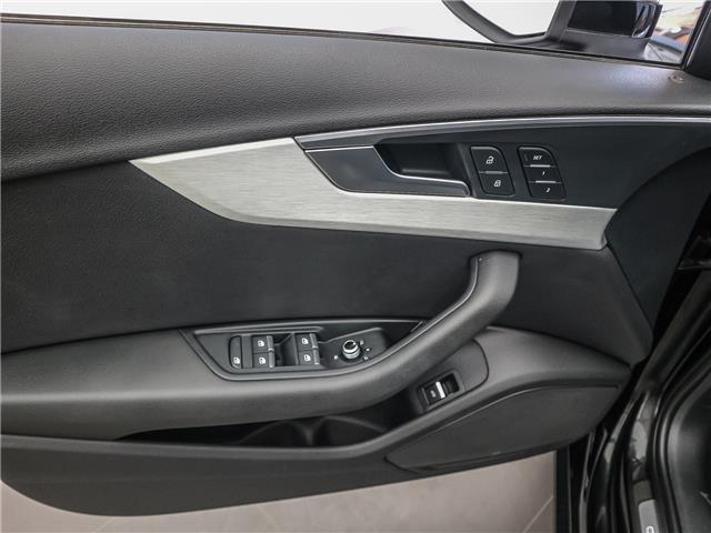 2017 Audi A4 2.0T Progressiv (Stk: P3237) in Toronto - Image 9 of 29