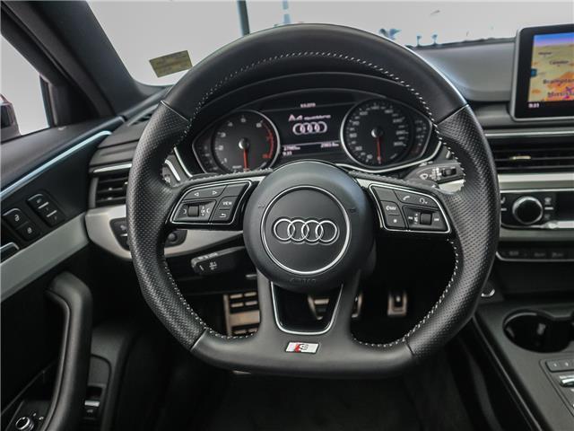 2017 Audi A4 2.0T Progressiv (Stk: P3237) in Toronto - Image 12 of 29