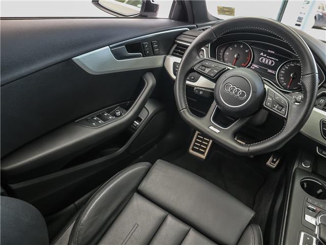 2017 Audi A4 2.0T Progressiv (Stk: P3237) in Toronto - Image 13 of 29