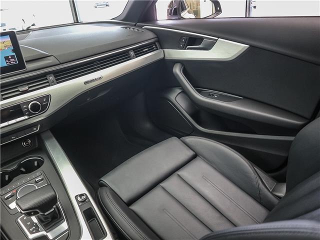 2017 Audi A4 2.0T Progressiv (Stk: P3237) in Toronto - Image 15 of 29