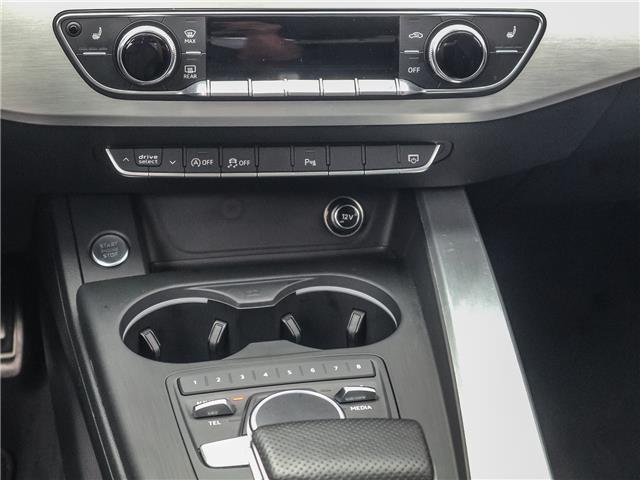 2017 Audi A4 2.0T Progressiv (Stk: P3237) in Toronto - Image 17 of 29