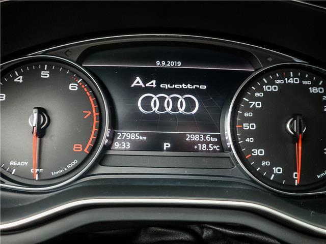 2017 Audi A4 2.0T Progressiv (Stk: P3237) in Toronto - Image 28 of 29