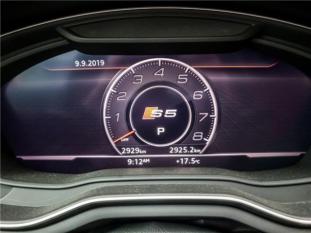 2019 Audi S5 3.0T Technik (Stk: P3424) in Toronto - Image 27 of 28