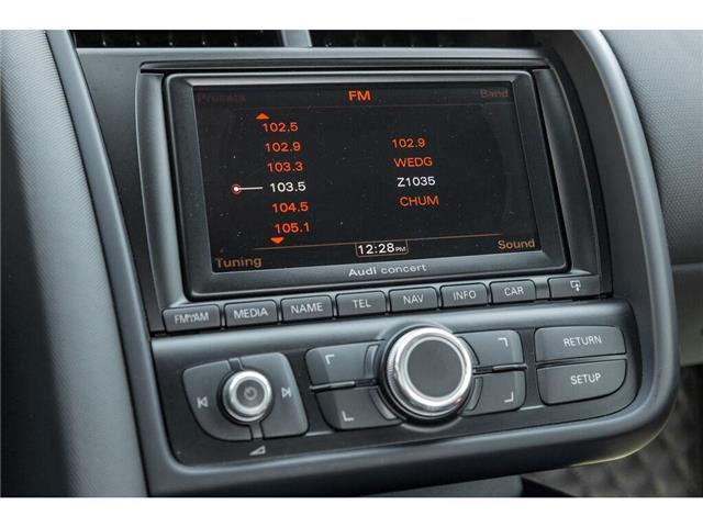 2011 Audi R8 4.2 (Stk: 19HMS619B) in Mississauga - Image 17 of 20