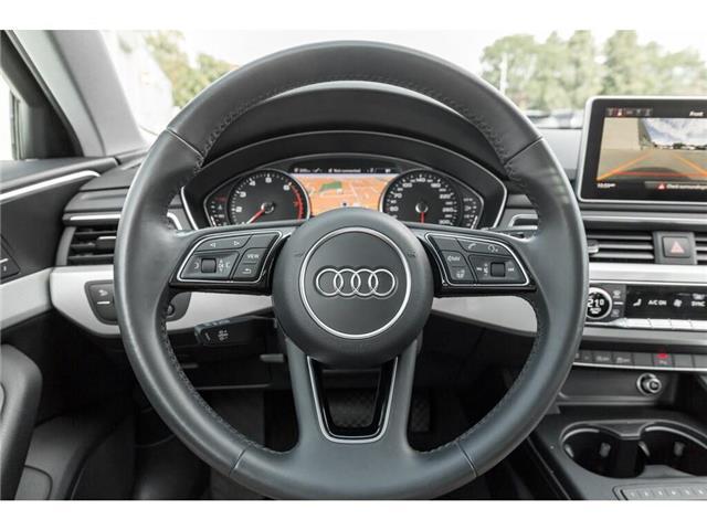 2018 Audi A4 2.0T Progressiv (Stk: 19HMS) in Mississauga - Image 10 of 25