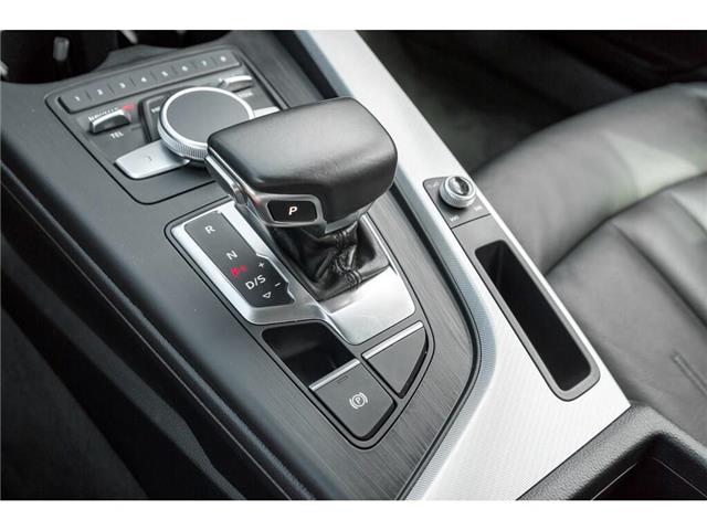 2018 Audi A4 2.0T Progressiv (Stk: 19HMS) in Mississauga - Image 15 of 25