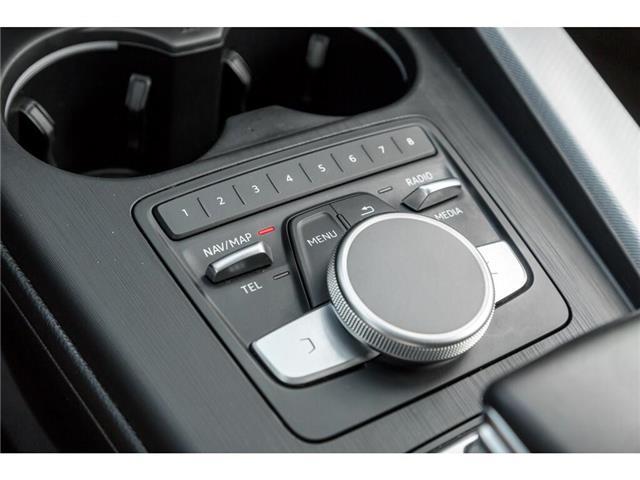 2018 Audi A4 2.0T Progressiv (Stk: 19HMS) in Mississauga - Image 16 of 25