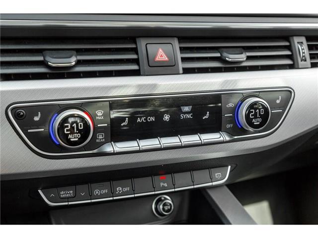 2018 Audi A4 2.0T Progressiv (Stk: 19HMS) in Mississauga - Image 17 of 25