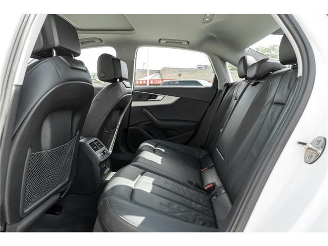 2018 Audi A4 2.0T Progressiv (Stk: 19HMS) in Mississauga - Image 21 of 25
