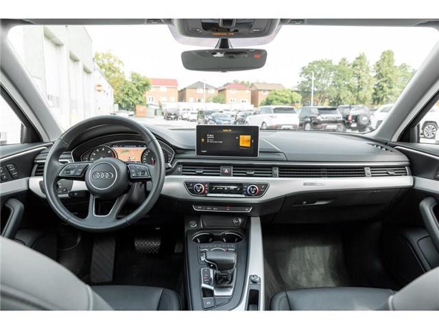 2018 Audi A4 2.0T Progressiv (Stk: 19HMS) in Mississauga - Image 22 of 25