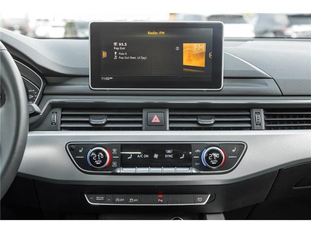 2018 Audi A4 2.0T Progressiv (Stk: 19HMS) in Mississauga - Image 23 of 25
