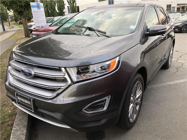 2018 Ford Edge Titanium (Stk: 186765) in Vancouver - Image 1 of 8