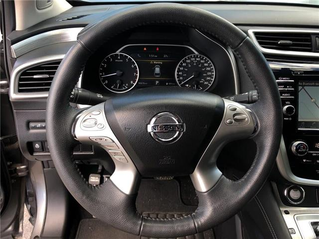 2016 Nissan Murano SL (Stk: UN1001AA) in Newmarket - Image 12 of 20