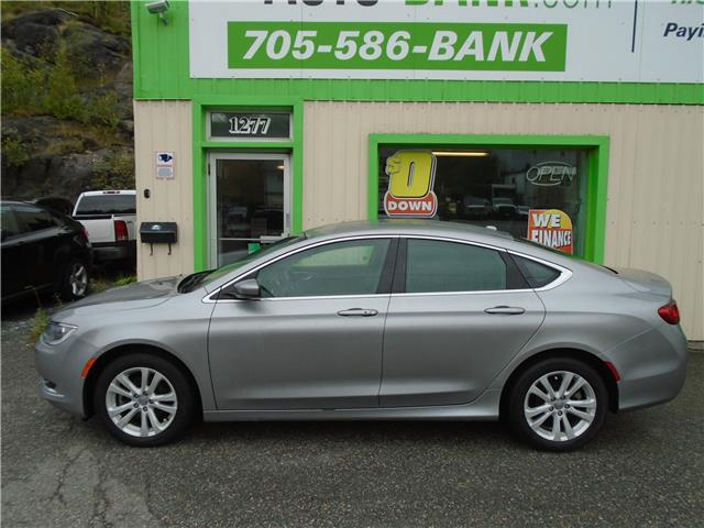 2016 Chrysler 200 Limited (Stk: ) in Sudbury - Image 1 of 6