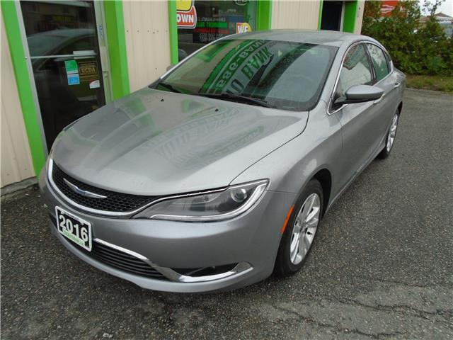2016 Chrysler 200 Limited (Stk: ) in Sudbury - Image 2 of 6