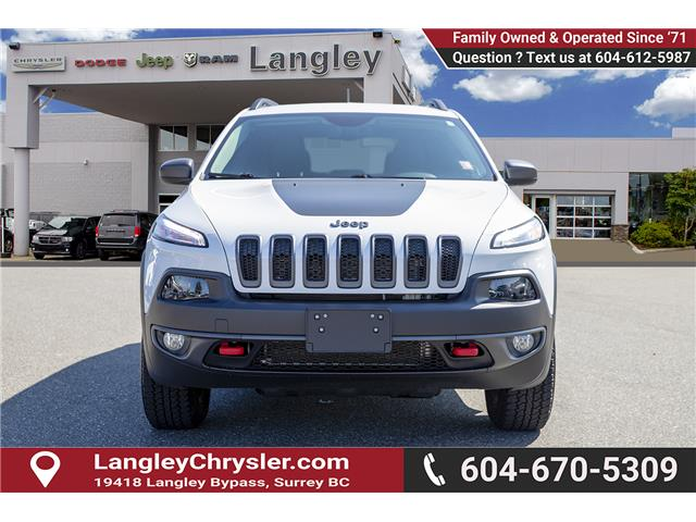2018 Jeep Cherokee Trailhawk (Stk: K647560A) in Surrey - Image 2 of 25