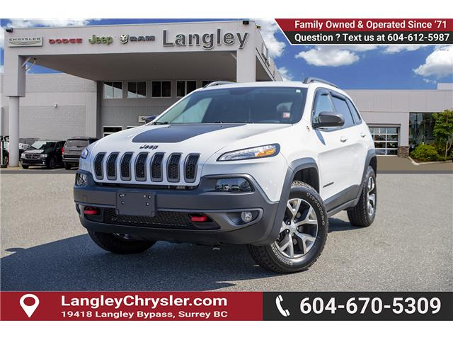 2018 Jeep Cherokee Trailhawk (Stk: K647560A) in Surrey - Image 3 of 25