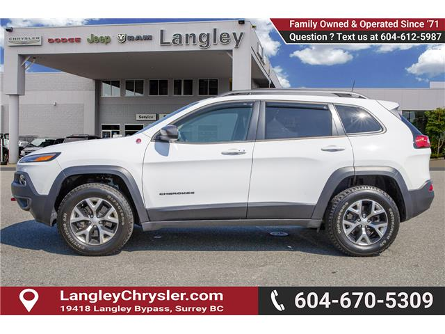 2018 Jeep Cherokee Trailhawk (Stk: K647560A) in Surrey - Image 4 of 25