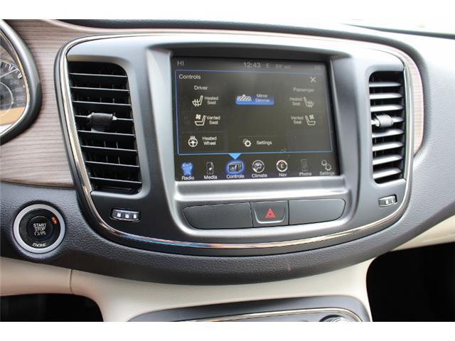 2015 Chrysler 200 C (Stk: D0119) in Leamington - Image 23 of 30