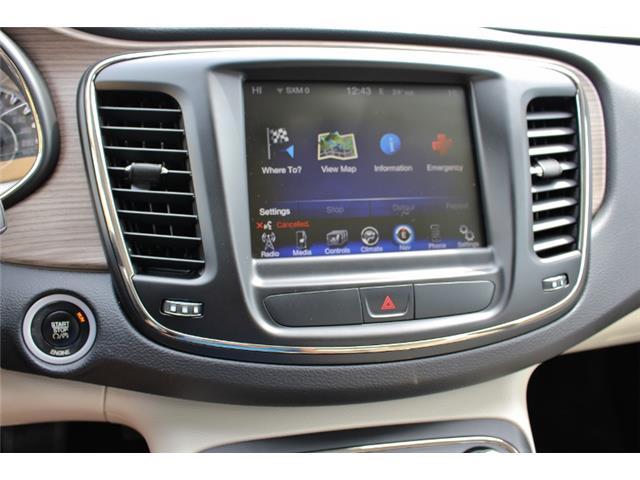 2015 Chrysler 200 C (Stk: D0119) in Leamington - Image 25 of 30