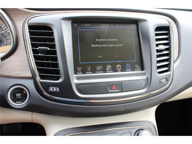 2015 Chrysler 200 C (Stk: D0119) in Leamington - Image 26 of 30
