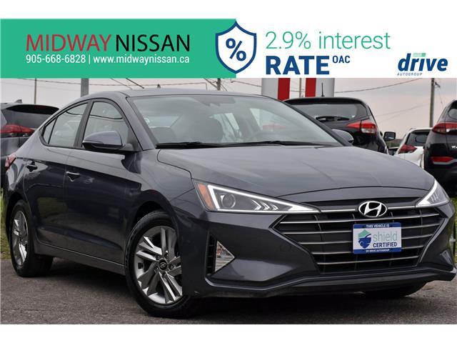 2019 Hyundai Elantra Preferred KMHD84LF5KU837416 U1850R in Whitby