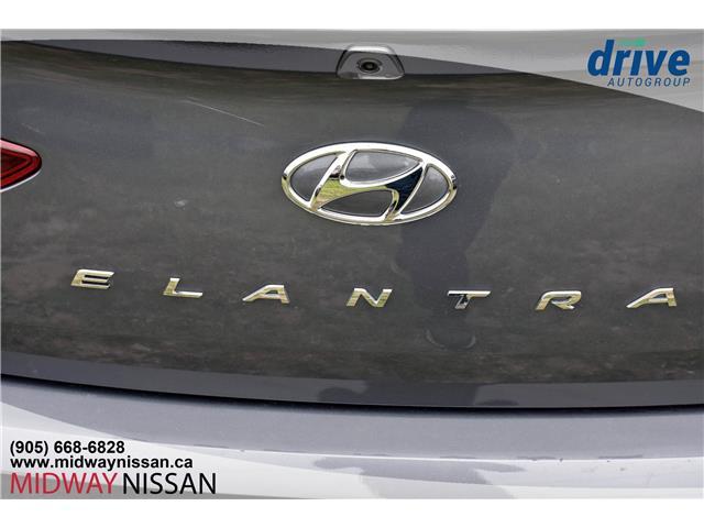 2019 Hyundai Elantra Preferred (Stk: U1850R) in Whitby - Image 11 of 33