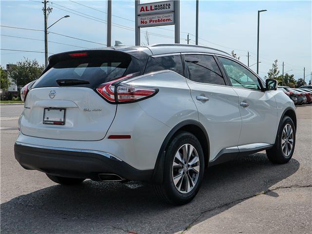 2018 Nissan Murano SL (Stk: JN149315) in Cobourg - Image 5 of 34