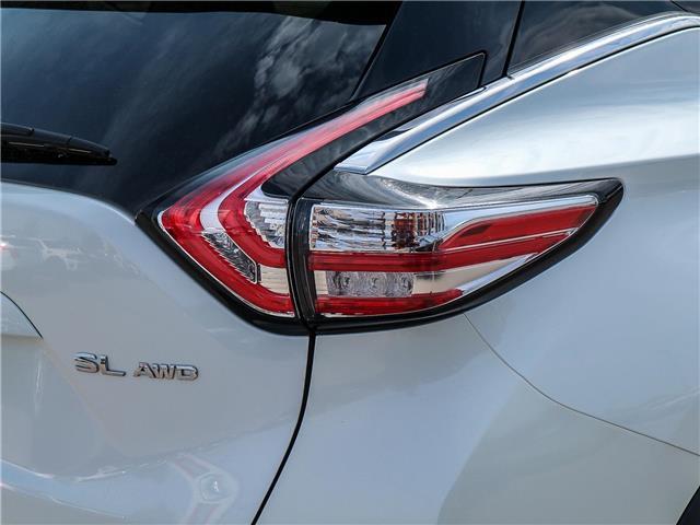 2018 Nissan Murano SL (Stk: JN149315) in Cobourg - Image 13 of 34
