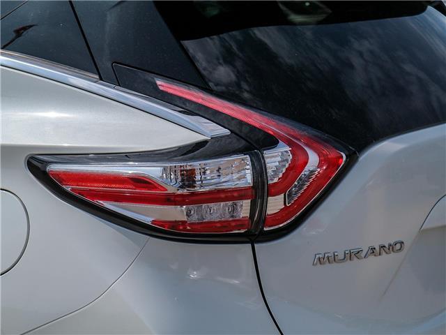 2018 Nissan Murano SL (Stk: JN149315) in Cobourg - Image 14 of 34