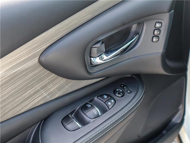 2018 Nissan Murano SL (Stk: JN149315) in Cobourg - Image 15 of 34