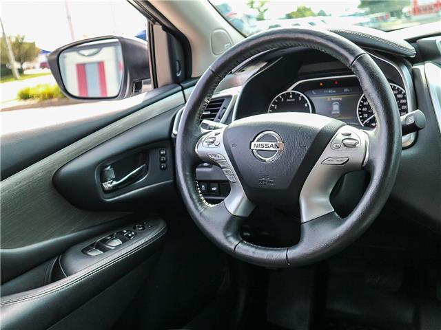 2018 Nissan Murano SL (Stk: JN149315) in Cobourg - Image 21 of 34