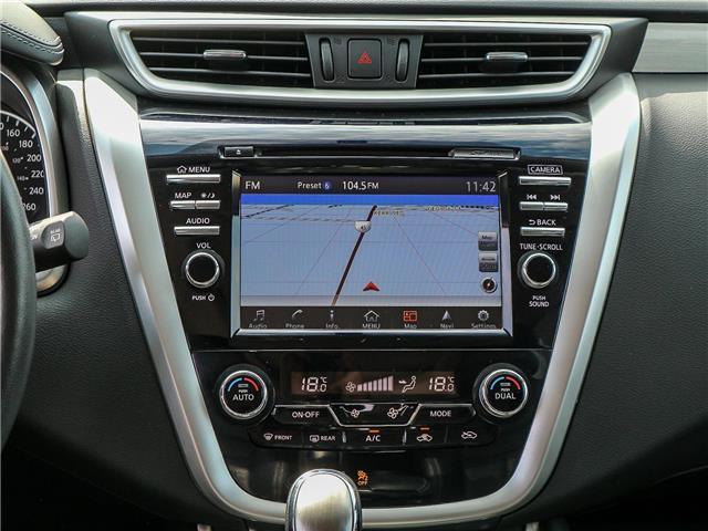 2018 Nissan Murano SL (Stk: JN149315) in Cobourg - Image 22 of 34