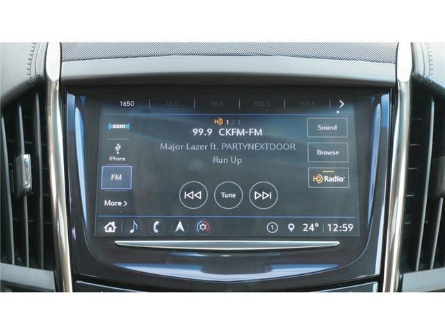 2018 Cadillac ATS 2.0L Turbo Luxury (Stk: DR190) in Hamilton - Image 34 of 40