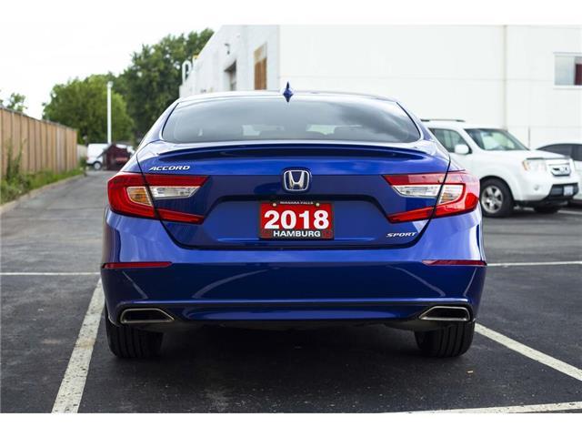2018 Honda Accord Sport (Stk: T5266A) in Niagara Falls - Image 6 of 23