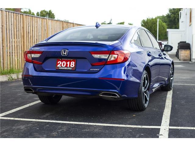 2018 Honda Accord Sport (Stk: T5266A) in Niagara Falls - Image 7 of 23