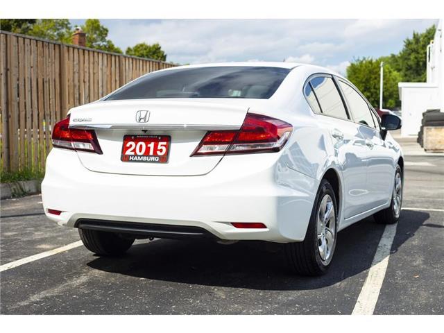 2015 Honda Civic LX (Stk: T5320) in Niagara Falls - Image 5 of 20