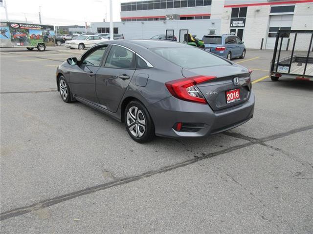 2016 Honda Civic LX (Stk: K14560A) in Ottawa - Image 7 of 22