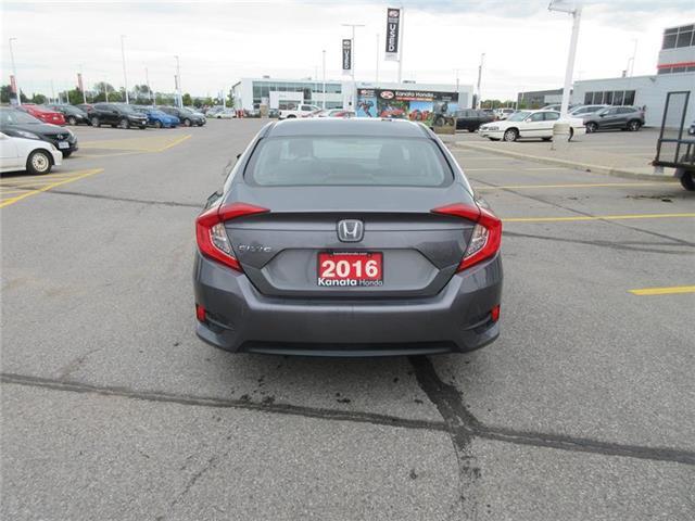 2016 Honda Civic LX (Stk: K14560A) in Ottawa - Image 8 of 22